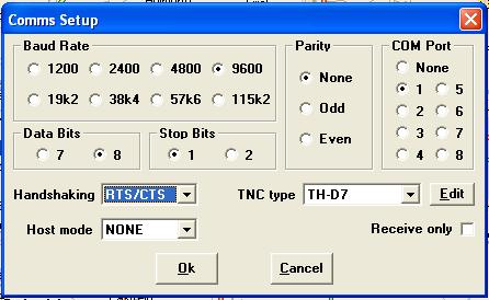 configurar puerto serie en ui view